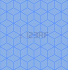 Illustration of Seamless geometric blue pattern. vector art, clipart and stock vectors. Window Films, Illusion Art, Texture Vector, Optical Illusions, Textures Patterns, Geometric Shapes, Vector Art, Clip Art, Illustration