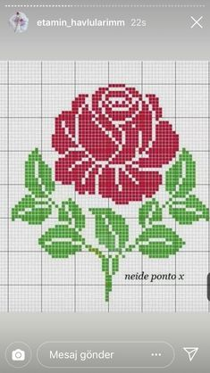 Cross Stitch Rose, Tapestry Crochet, Quilt Blocks, Cross Stitch Patterns, Coloring Pages, Quilts, Embroidery, Beads, Cross Stitch Art