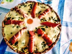 Špenátový koláč - koláč Vegetable Pizza, Quiche, Ale, Vegetables, Breakfast, Food, Morning Coffee, Ale Beer, Essen