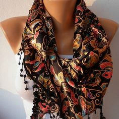 Women  Scarf - by fatwoman, $17.00