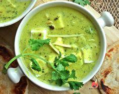 Paneer Dhaniya Adraki Korma [Cottage Cheese in Coriander-Ginger Flavored Yogurt Sauce]