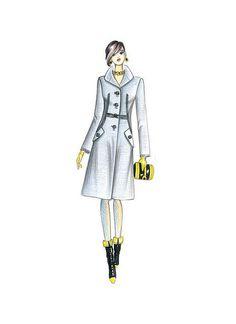 De Imágenes Moda Vestuario Mejores Tapados Dibujos 8 Diseño qAEPx7wC55