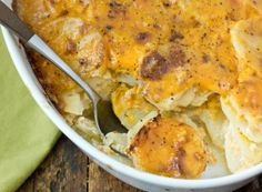 Recipe: Scalloped Potatoes with Onions and Cheddar Cheese Recipes from The Kitchn   The Kitchn
