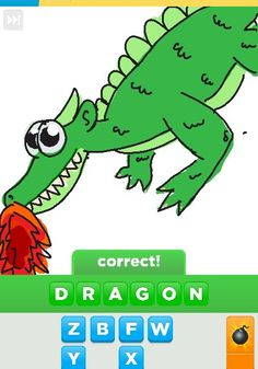 Dragons are the greatest mythical beasts! I would love to own one  Draw something app