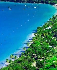 Megan's Bay, St. Thomas, U.S. Virgin Islands. Yes, it really is this beautiful. www.flickr.com
