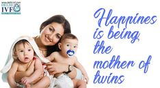 Happines is being the mother of twins. #ivf #mom #baby #love