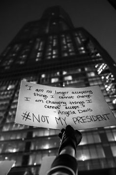 The Trump administration has absolutely no idea what it's doing. Of course this is super obvious, kind of like saying water is wet, but it bears repeating over and over again until we can finally make the madness stop. While Jeff Sessions goes to work. Trump Protest, Protest Art, Angela Davis, Jeff Sessions, Say That Again, Intersectional Feminism, Tomorrow Will Be Better, Pro Choice, Equal Rights