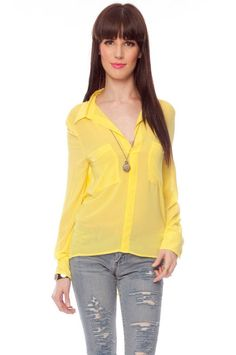 Double pocket blouse in marigold, such a pretty summer blouse:)