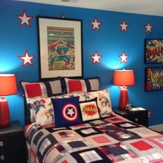 Childrens Superhero Bedroom Ideas