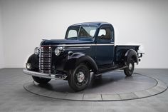 Dark Blue & Black 1940 Chevrolet 1/2-Ton Pickup