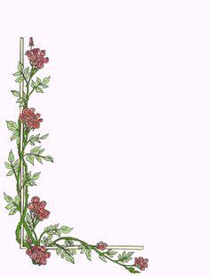Marcos para hojas elegantes - Imagui