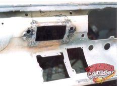 133.- Toma de la parte interna del tablero donde va el stereo después de la reparación.  #Restauración #Mustang65 #InfernoGarage