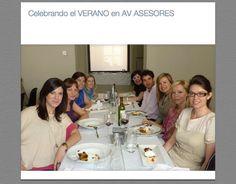 Celebrando el verano en AV Asesores