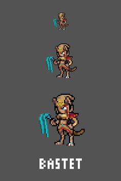 Bastet Emote / Sprite we made for Smitewww.twitch.tv/smitegame