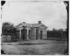 Title: Gettysburg, Pennsylvania. Entrance to Gettysburg National Cemetery Creator(s): Smith, William Morris, photographer Date Created/Published: 1865 July. 03999v.jpg (1024×815)