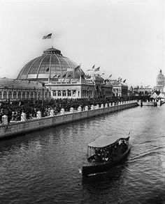 1893 Chicago Columbian Exposition Horticulture Building