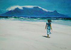 Acrylic on Art Oil, Acrylics, Africa, Board, Painting, Painting Art, Paintings, Acrylic Nails, Painted Canvas