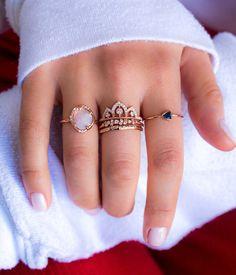 Opal Aphenos diamond Ring - Audry Rose