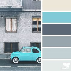 today's inspiration image for { auto hues } is by @closetteblog ... thank you, Federica, for another wonderful #SeedsColor image share!