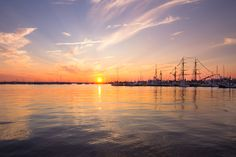 Tall Ships have landed Newport, Rhode Island - (print available)