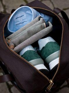 Bon Voyage: 10 Prep Tips for the Intelligent Traveler; Packed Mens Bag from Bonjour JR