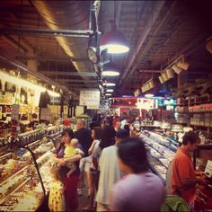 Reading Terminal Market —explore the city's historic farmer's market in the heart of town. Amish specialties from our neighbors in Lancaster. Local made ice cream and chocolates. Authentic Asian foods, classic Jewish deli, and if you're looking for cheese steaks, ignore the Pat's vs Geno's debate and head for Oliveri's. All this great fare plus unique, hand-made pottery, jewelry, soaps, books and crafts from around the world. This is must visit 'cause you gotta eat, right?