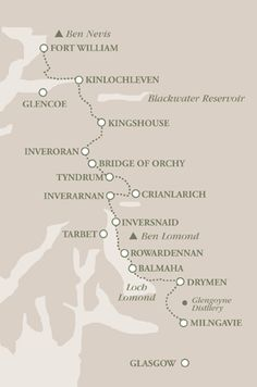 West Highland Way Route - definitely a long distance hike that is on the to do list. :-)
