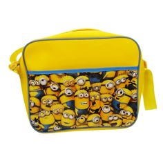 c8e3913f69be Despicable Me Minions Courier Shoulder Bag