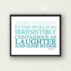 laughter & good humor