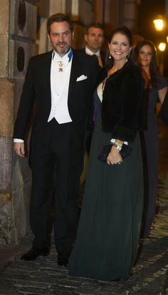 Queens & Princesses -  The royal family attended the annual party of the Royal Swedish Academy in Stockholm.