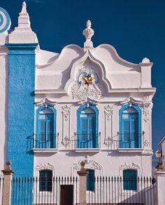 Fachada de casa em Campo Maior Façade in Campo Maior - Alentejo (Portugal)