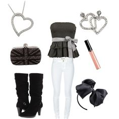 Love love love!!! This would be adorable with a pink jacket too.