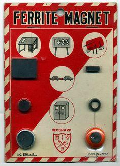 Hecsharp Japan Ferrite Magnet Set