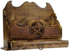 Pentacle Letter Holder With Drawer