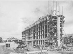 Zustershuis in aanbouw
