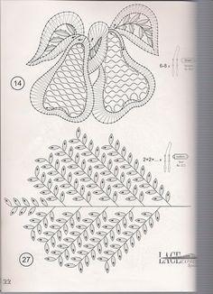 renda de bilros / bobbin lace  Plantas + Arvores / Plants + Trees Lace Heart, Lace Jewelry, Lace Making, Bobbin Lace, Lace Detail, Techno, Stencils, Bullet Journal, Butterfly