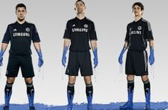 Tercera equipacion camiseta del Chelsea 2013 2014 baratas
