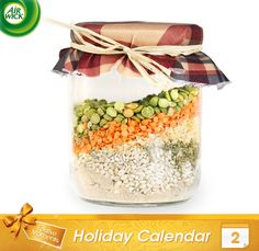 A Friendship Soup Mix In A Jar makes for a colorful and delicious gift.