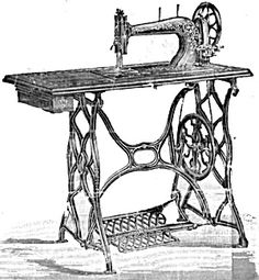 Singer Model 13 Treadle Sewing Machine    American Sewing Machine Co treadle handcrank sewing machine manual ...