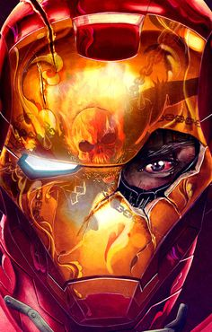 Ironman Vs. Ghost Rider