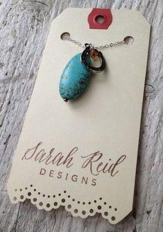 My jewelry display tags