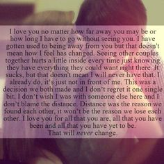 Long Distance Quotes : Long distance relationships are not the easiest.. let me tell you. But if you ar