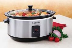 4 crockpot recipes- chicken stroganoff, lasagna, beef stew, tortilla soup w WW pts