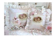 Image detail for -Ruffled Pillow & Sachet Set 4984 Designs By Lynn-pink, roses, shabby ...