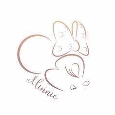 A quickie Minnie. Disney Cups, Disney Diy, Disney Crafts, Disney Tattoos, Mouse Tattoos, Mini Y Mickey, Body Art Tattoos, I Tattoo, Minnie Tattoo