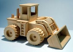 plans for toy boxes | toy plan tough enough to move mountains our earth mover bulldozer plan ...