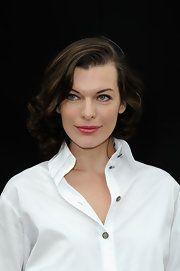 Milla Jovovich Medium Curls