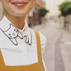Instagram media misspatina - Can't get enough of cute cat collarphoto by @shelovesdresses Thank you!#catlovers #misspatina