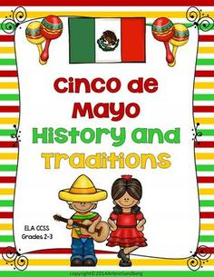 Cinco de Mayo: History and Traditions from LMN Tree on TeachersNotebook.com -  (51 pages)  - This ELA CCSS Aligned Thematic Unit is designed to teach students about the history of Cinco de Mayo and the traditions of how it is celebrated. Students will engage in a variety of reading and writing activities that are differentiated at the 2nd and 3rd