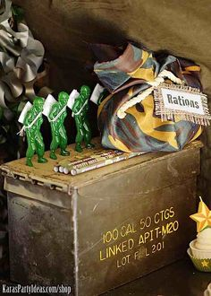 Army Camouflage Themed Birthday Party- Kara's Party Ideas Shop - Kara's Party Ideas - The Place for All Things Party